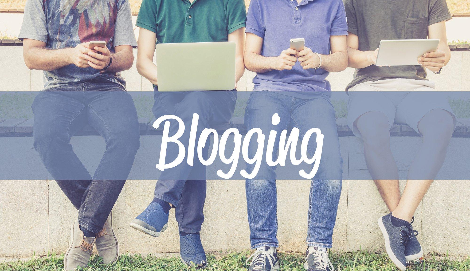 blog laten schrijven